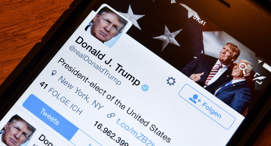 Is trump's Twitter account a national security threat? – Politico