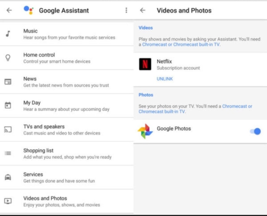 #Netflix and #GooglePhotos Now Integrate with #GoogleHome