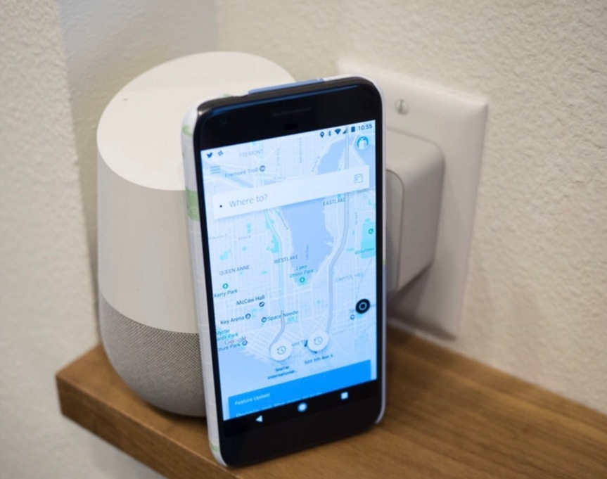 How to use Google Home to call an Uber