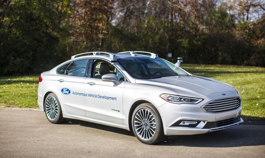 #Ford's new self-driving #Fusion almost looks like a regular car