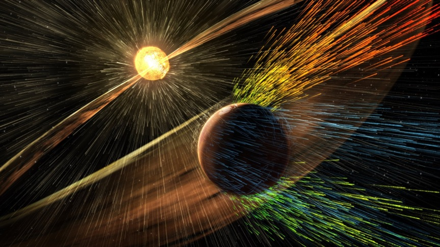 NASA proposes guarding Mars' atmosphere with a magnetic shield via@engadget